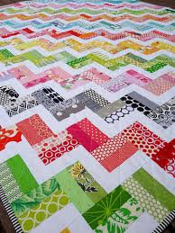 Another great quilts for using up scraps! Red Pepper Quilts: Zig ... & Another great quilts for using up scraps! Red Pepper Quilts: Zig Zag Rail  Fence Adamdwight.com
