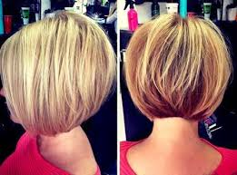 short straight stacked bob cut for um and thick hair