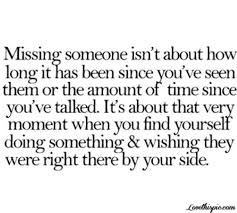 Long Quotes About Yourself Best of Missing Someone Love Quotes Life Time Long Missing Yourself Side