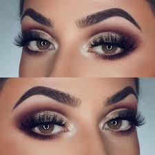 makeup idea for brown eyes 2018