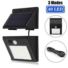 Online Shop A2 PIR Motion Sensor <b>solar</b> lamp lantern 64LED ...