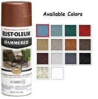 Rustoleum Spray Paint Color Chart For Metal Rustoleum
