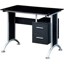 walmart home office desk. Techni Mobili Glass Top Home Office Desk Black Walmart