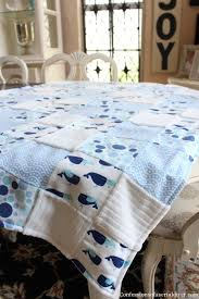 How to Make a Baby Quilt from Receiving Blankets | Confessions of ... & Make a Baby Quilt from Receiving Blankets! Adamdwight.com