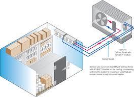 icube adaptive defrost module dtav40 icube module and sensor wires
