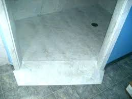 cultured marble shower installation base repairs photo 7 of pan
