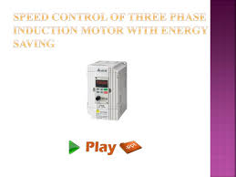 sd control of three phase induction motor with energy saving n