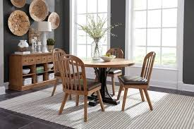 full size of round dining room table with erfly leaf bi drifted pine set by living