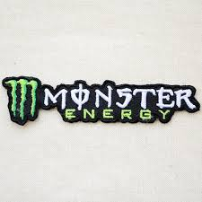 Lazystore Rakuten Global Market Logo Patch Monster Energy