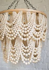 furniture endearing how to make a bead chandelier 12 how to make a clay bead chandelier