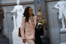 Though her words were powerful on their own — shameful! definitely gets the point across. Ocasio Cortez Biden Needs A Real Health Care Plan The Boston Globe