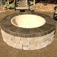 large wood burning fire pit pits outdoor kits stone canadian tire