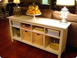 console sofa table with storage. Wonderful Sofa Sofa Table Storage Cabinet Side Long With Design Throughout 9 On Console