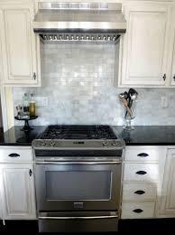Decorating A White Kitchen Decorating Black And White Kitchen Backsplash Tile Home Design