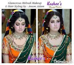 latest bridal makeup by kashee s beauty parlour 2016 mehndi makeup 1