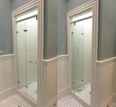 bi fold shower door types of glass shower doors we can create custom shower doors in bi fold shower door