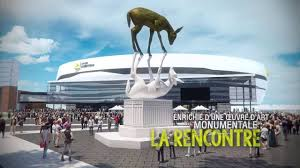 It is due to open in 2015 and will have a capacity of 18,000 spectators. Place Jean Beliveau Quebec Urbain