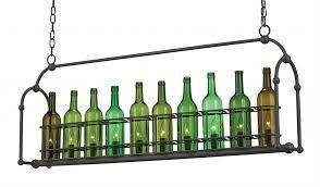 chic wine bottle light fixture chandelier chandeliers modernistlighting