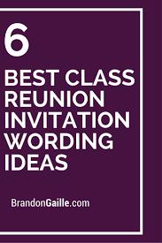 Class Reunion Invitation Template 24 Best Class Reunion Invitation Wording Ideas Class Reunion 4