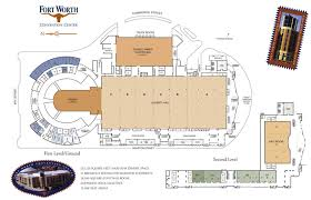 Fort Worth Convention Center Seating Chart Map Of Convention Center Hrswc 2019