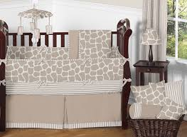 giraffe neutral baby bedding 9 pc crib set by sweet jojo designs only 189 99