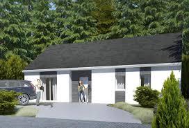 rendu 1 de la maison individuelle habitat concept 77