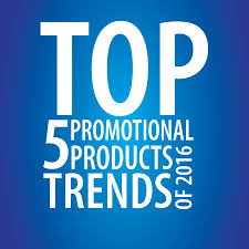 Top Promotional Top 5 Promotional Products Trends Of 2016 Williams Advertising
