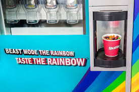 Create The Rainbow Skittles Vending Machine Inspiration Beast Mode Skittles Suzi Pratt