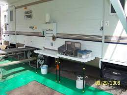 Rv Net Open Roads Forum I Miss The Outdoor Stove With My Pop Up Camp Kitchen Build Outdoor Kitchen Outdoor Stove