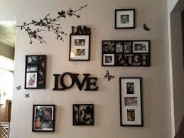 picture frames on wall. Stylish Ideas For Hanging Pictures On Wall Without Frames Home Design Picture