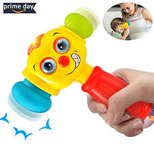 fy baby toys funny changeable hammer kids toys for 6 months up multi function lights and for toddlers infant boys and s 1 2 3 years old best