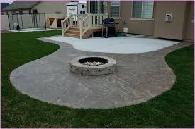 patio and firepit ideas fire pit on concrete patio diy outdoor fire pit