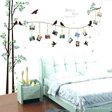 headboard stickers walls headboard stickers walls birds on the tree picture frame wall decal home decor