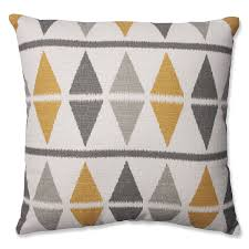 amazoncom pillow perfect ikat argyle throw pillow inch