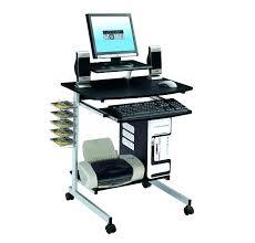 desk for laptop computer mobile computer desk laptop portable rolling cart adjule stand table office standing