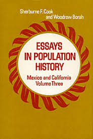 essays in population history and california volume three