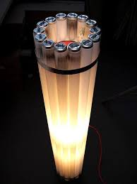 recycled lighting. Castor_recycled_tube_light.jpg Recycled Lighting