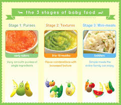 Baby Food Stages Chart 38 Veracious Gerber Nutrition Chart