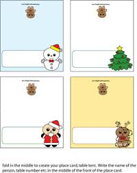 christmas placecard templates place cards christmas place cards free printable ideas from