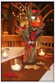 Fall Table Decorations With Mason Jars Stunning Fall Wedding Table Centerpieces Gallery Styles Ideas 98
