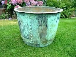 extra large garden pots copper flower pots copper garden planters planters garden pots and planters extra extra large garden pots