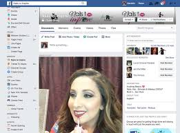 live stream for nails to inspire on facebook featured tutorial of everyday work make up