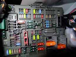 1m fuse box behind the glove box