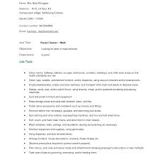 Housekeeping Duties Resume Private Housekeeper Resume Sample Housekeeping Duties And 23