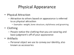verbal and non verbal communication types of nonverbals physical appearancebull