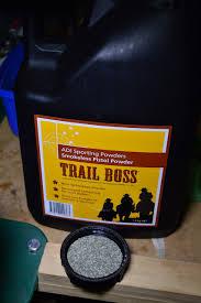 Adi Powder Reloading Chart Having Some Fun Reloading With Trail Boss Powder In My 45 70