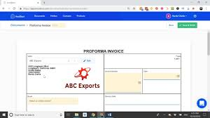 what is a proforma proforma invoice and purchase order documents incodocs