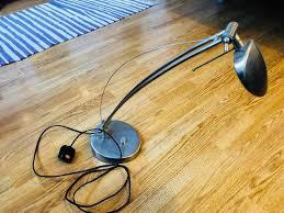 Ikea Halogen Desk Lamp Metallic Heavy Base In Kingston London Gumtree