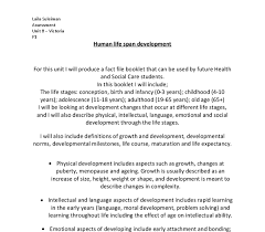 human life span development essay gcse health and social care  document image preview