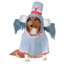 Details About Winged Monkey Costume Pet Wizard Of Oz Halloween Fancy Dress